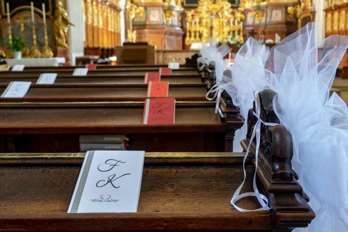 Fotografie - Hochzeit im Dom der Wachau - Dekoration