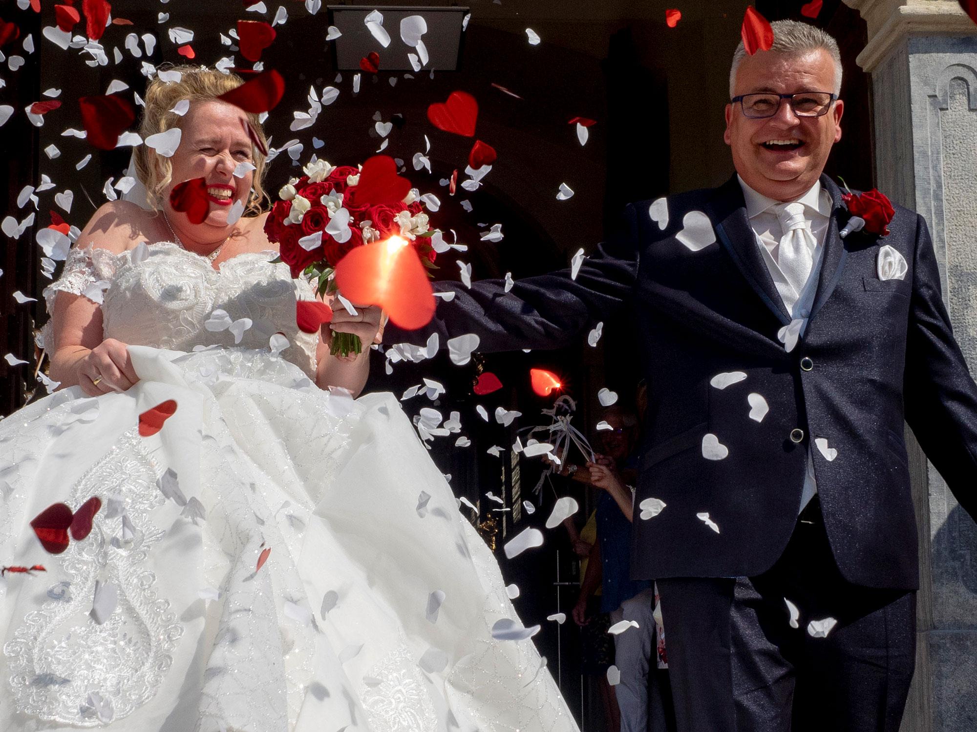 Fotografie Hochzeit Dom der Wachau Brautpaar