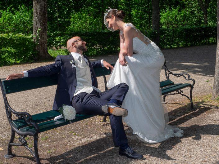 wedding photography Shooting Schloß Schönbrunn Brautpaar