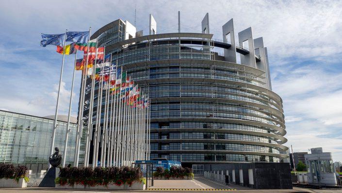 Fotografie Strassburg EU Parlament
