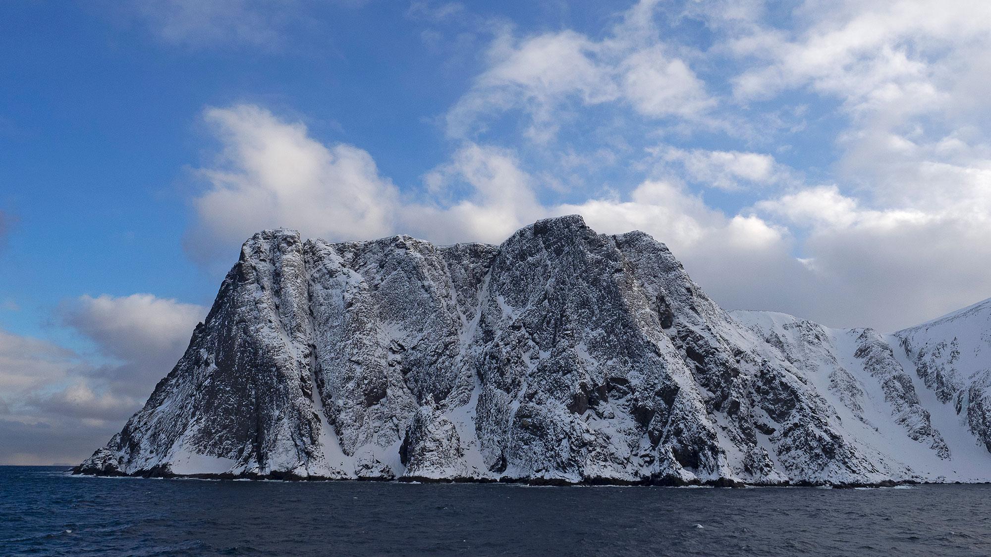 Fotografie Nordkap im Winter