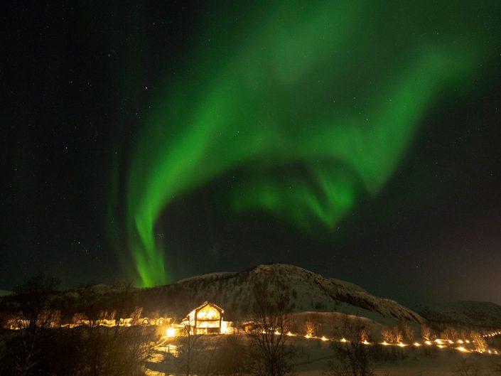 Fotografie Kirkenens Nordlichter