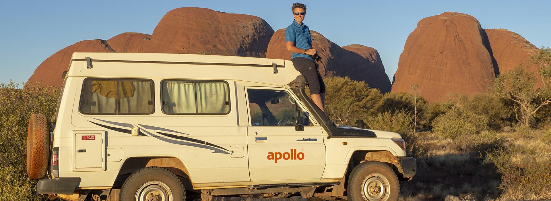 Australien Jeep Olgas