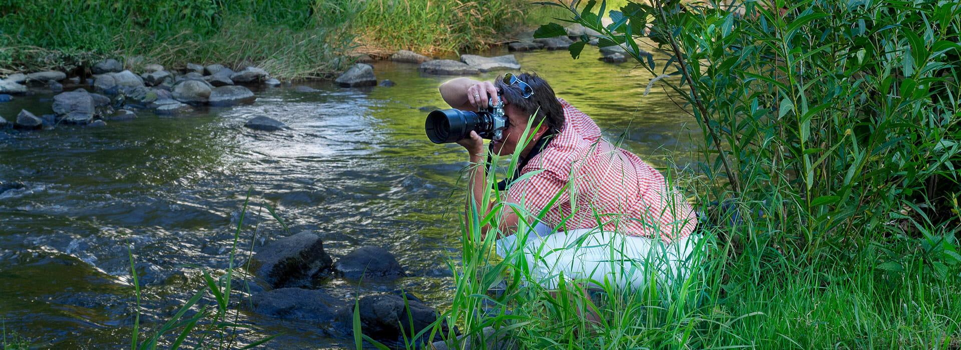 Fotografie Fotoshooting an der Krems