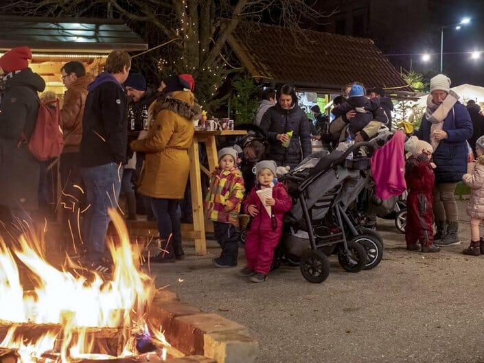 Foto Adventmarkt Dross Weintaufe