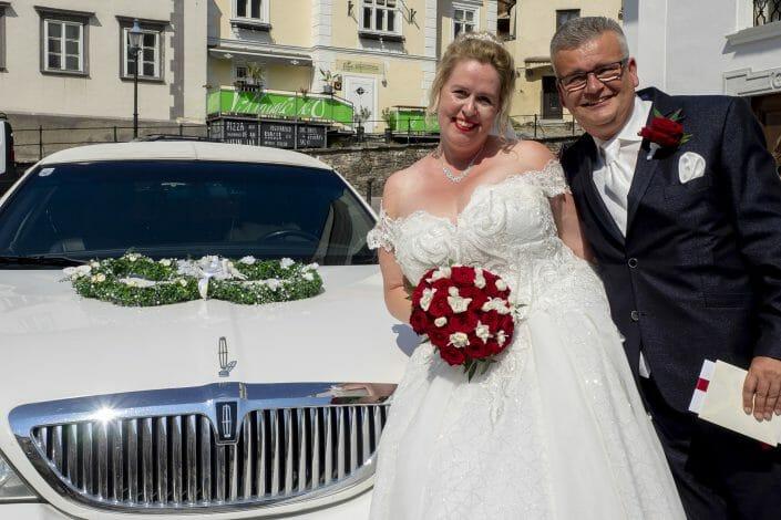 Hochzeit Dom der Wachau Brautpaar