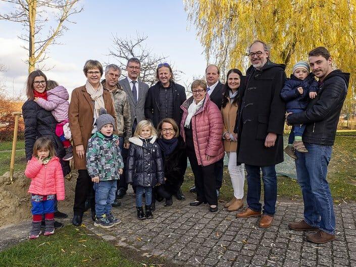 Foto Kindergarten Spatenstich Dross