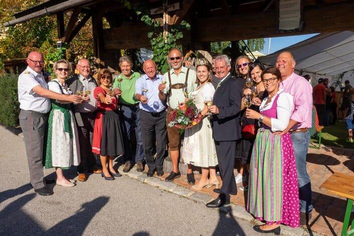 Dorffest Umzug Ehrengäste