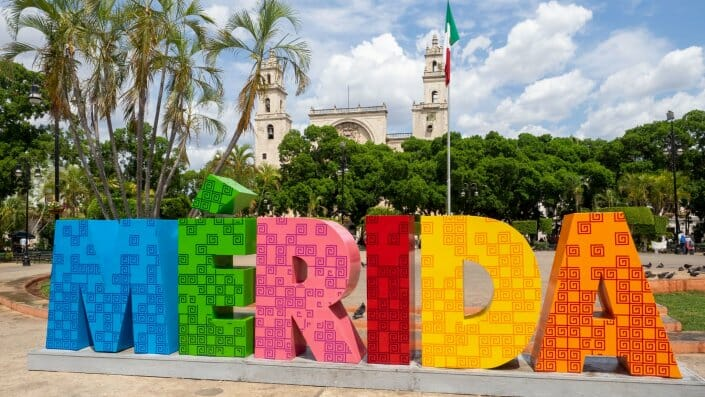 Merida Yucatan Hauptplatz