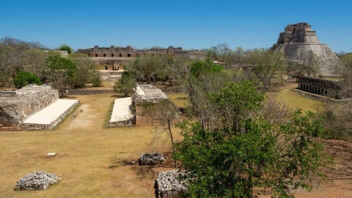 Uxmal Pyramide Yucatan Maya