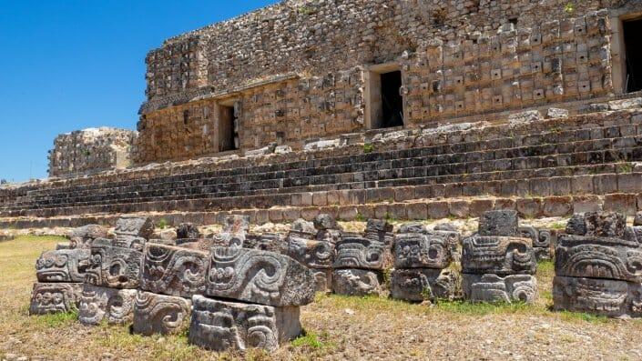 Tempel Kabah Yucatan Maya