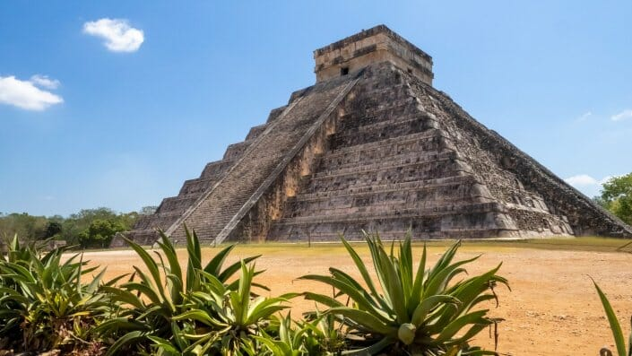 Chichen Itza Pyramide Maya Yucatan