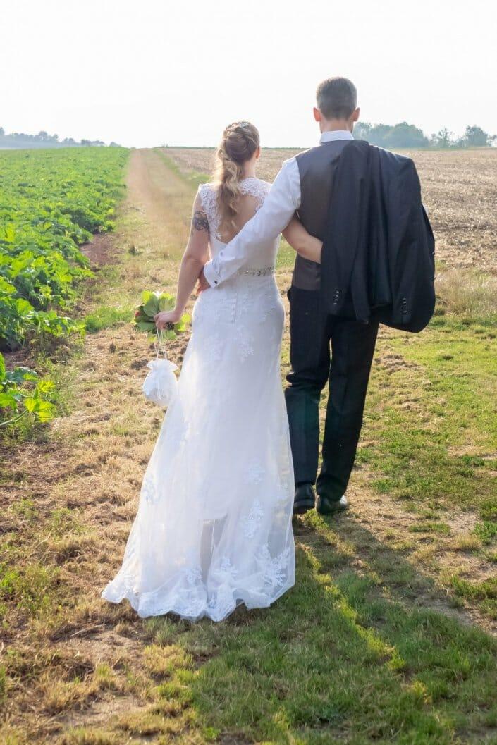 Hochzeit Heuriger Loiskandl Brautpaar Guntersdorf
