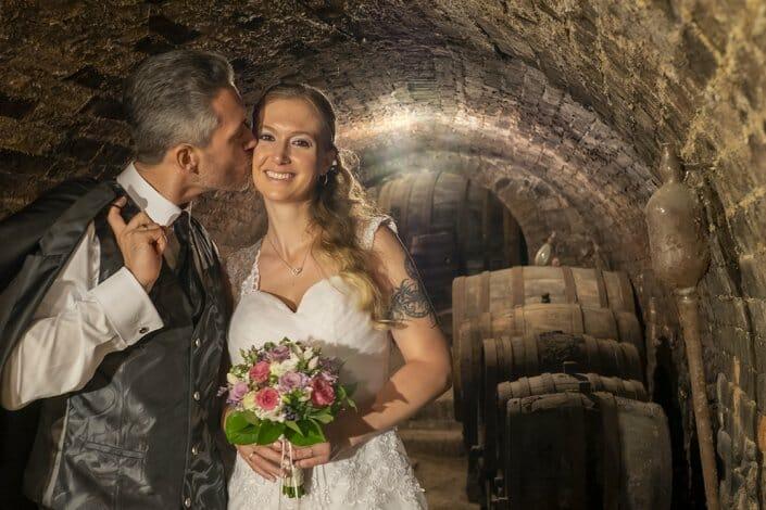 Hochzeit Brautpaar Heuriger Loiskandl Guntersdorf