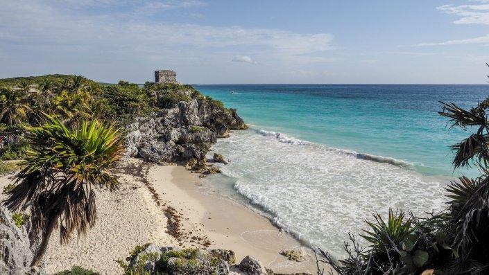 Tulum Karibik Maya Yucatan