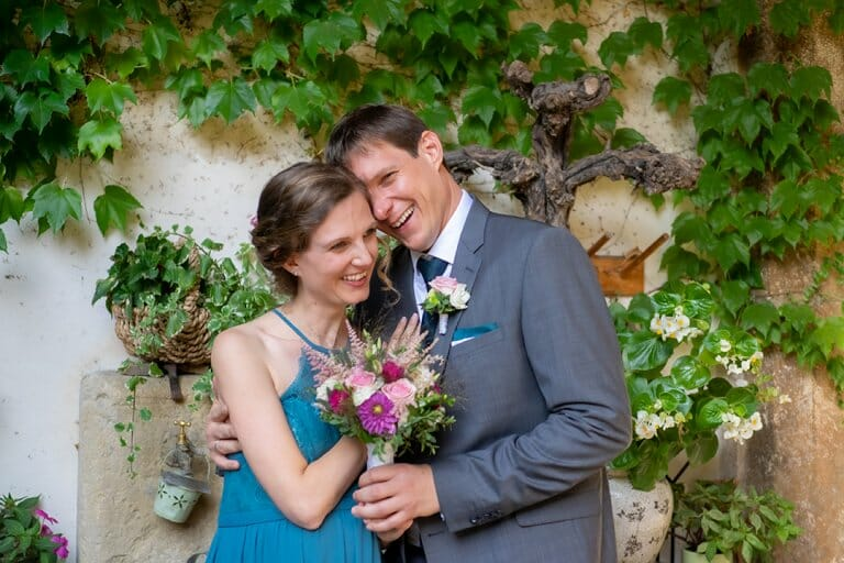 Fotografie Hochzeit Brautpaar Nikolaihof Mautern