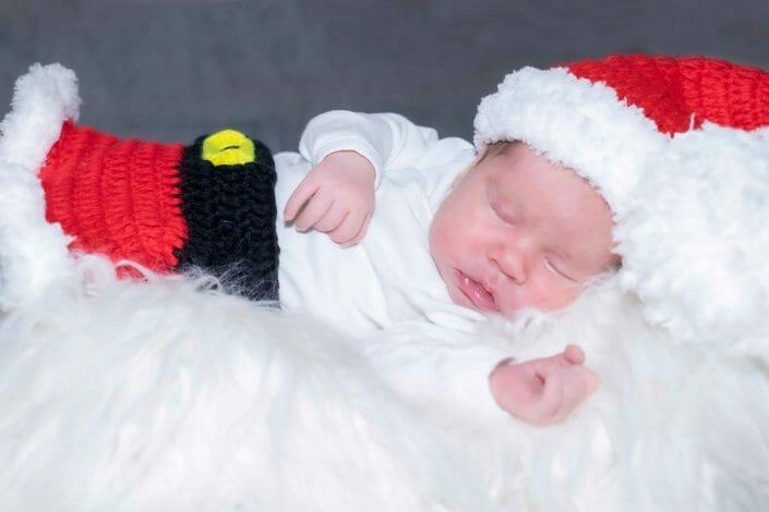 Babyfoto Weihnachten