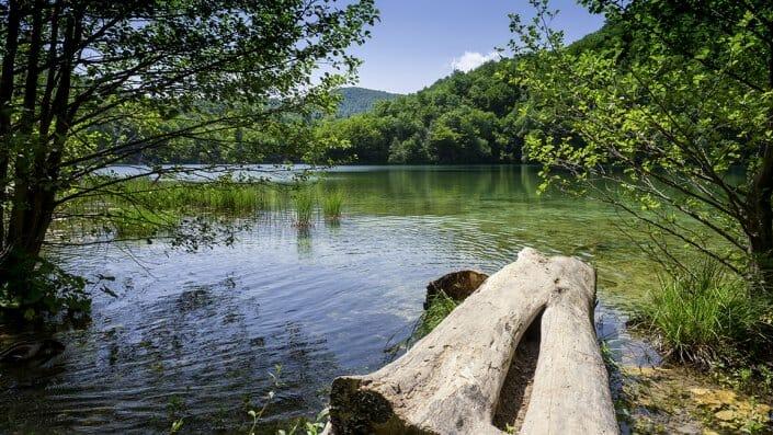 Foto Plitvice Kroatien Obere Seen