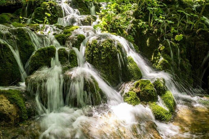 Foto Wasserfall Plitvice Kroatien