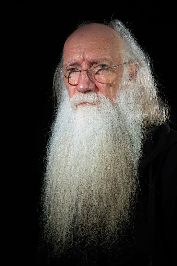 Porträtfotografie - Foto alter Mann mit Bart
