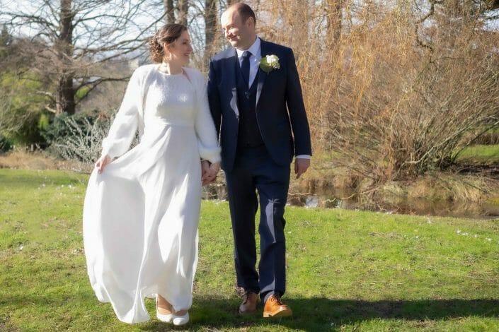 Fotografie Hochzeit Brautpaar Botanischer Garten Linz