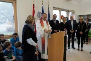 Eröffnung Volksschule Dross