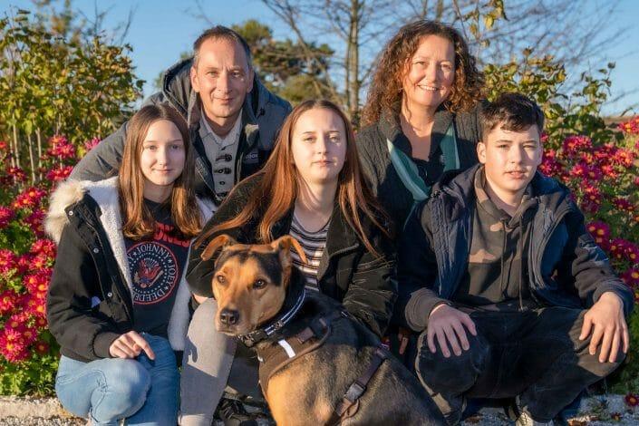 Familienfoto Hrbst Schiltern
