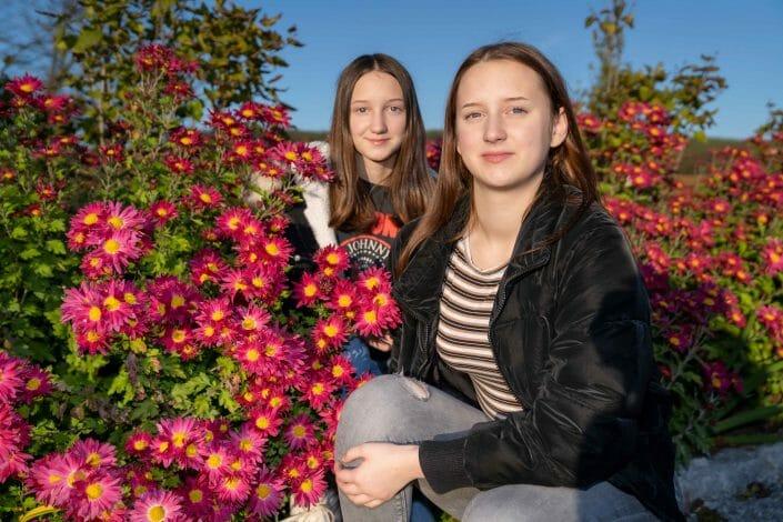 Familienfoto Herbst Schiltern