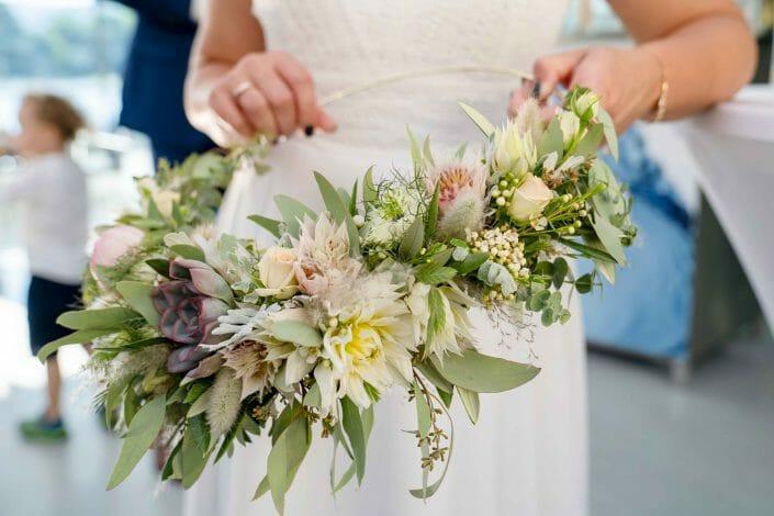 Braut Detail