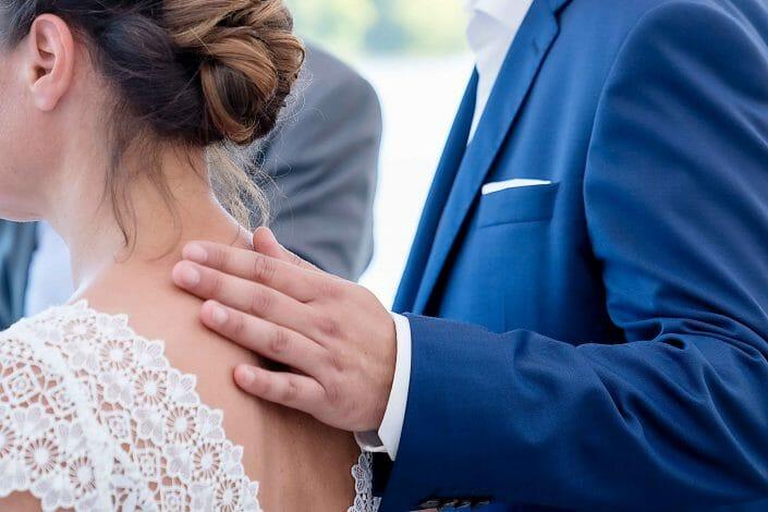 Brautpaar Detail