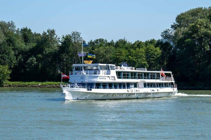 Austria ship on Danube Wachau