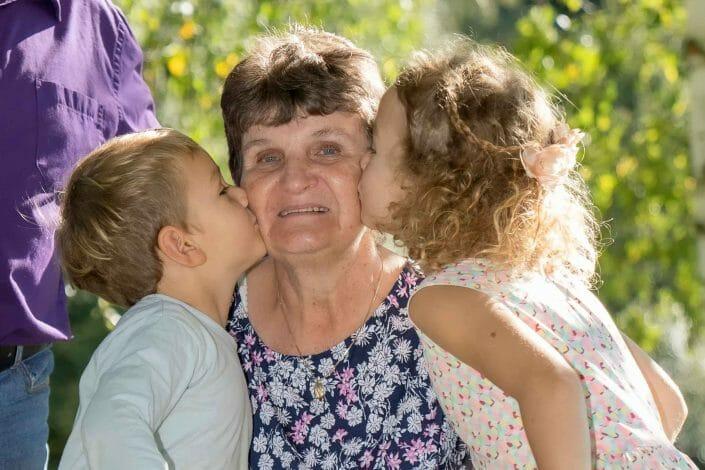 portrait photography family grandma Austria