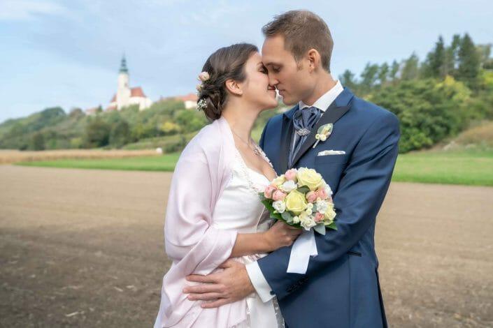 wedding in Austria bridal couple