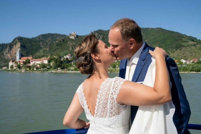 bridal couple in Austria Wachau