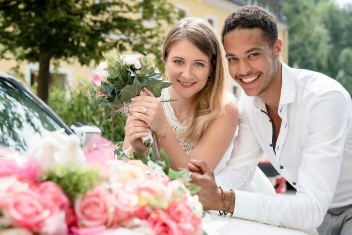bridal couple styled shoot