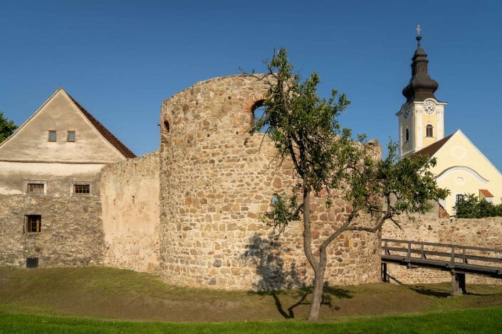 Austria Mautern Roman tower